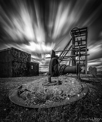 End of an era. (peterwilson71) Tags: arcitecture abandoned buildings clouds exposure grass industrial light longexposure landscape old mine lead travel