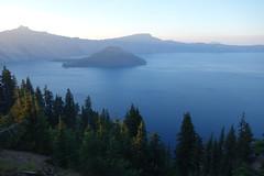 Crater Lake National Park (Team Kweeper) Tags: nationalpark oregon mountains cascaderange lake wizardisland sunset