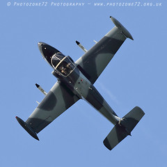 2526 Strikemaster (photozone72) Tags: dunsfold dunsfoldpark wingswheels airshows aircraft airshow aviation canon canon7dmk2 canon100400f4556lii 7dmk2 strikemaster strikedisplay classicjet jet