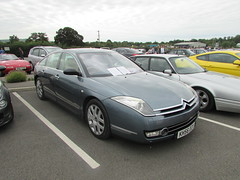 Citroen C6 Exclusive HDi KH56OCX (Andrew 2.8i) Tags: haynes motor museum breakfast meet sparkford yeovil somerset show classic classics cars car autos executive luxury diesel hdi exclusive c6 citroen