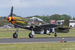 "North American P-51D Mustang ""Frenesi"" N357FG 413318 (Ady Williams Photography) Tags: n357fg mustang na north american p51 p51d frenesi riat usaf royal international air tattoo 17 2017 413318 rr rolls royce merlin packard 357th fighter group"