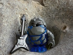Rock Music (captain_joe) Tags: macromondays rock guitar toy spielzeug 365toyproject lego minifigure minifig stein