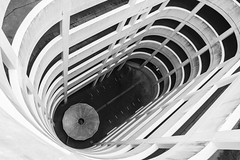 Spiralised (stopdead2012) Tags: reading multistorey carpark spiral ramp monochrome architecture berkshire