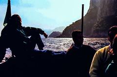 90-03 pan boot capri silh steil ag30-130 (ulrich kracke (many thanks for more than 1 Mill vi) Tags: i boot capri freizeit horizont silhouette transport