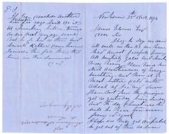 Most Fearful Passage to New York, 1876 (aberdeen granite) Tags: scotland aberdeen new york maritime sailing mercury david thomas ephemera usa