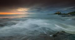 Bamburgh Sunrise (ianbrodie1) Tags: colour water sunrise farne island bamburgh castle northumberland northeast leefilters coast coastline rock iconic ocean