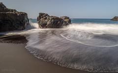 Playa De El Bollullo (Hans Kool) Tags: playadeelbollullo playa strand tenerife spain le spanje longexposure