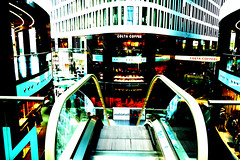 Warsaw - the Capital of Poland (yourglitter) Tags: warsaw capital of poland skyscrapers malls złote tarsay rondo 1 buildings street city towers fast food new future futuristic center centre downtown wieżowce drapacze chmór nowoczesna miasto polska modern colourfull life shopping airport lights evening sunny day commercial photography photographs pictures nice beautiful polish warszawa night scenes odbudowana wskrzeszona rebuilt resurected glitter jan siestrzeńcewicz yourglitter mall arkadia wfc warszawskie centrum finansowe intercontinental hotels hotel cafe