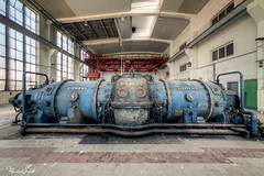 Váleček (Michal Seidl) Tags: abandoned powerplant verlassene kraftwerk ehemalige hd hdr urbex infiltration industry germany siemens turbine opuštěná elektrárna továrna factory fabrik