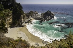 McWay Falls (Blazing Star 78613) Tags: california bigsur californiacoast californiacentralcoast juliapfeifferburnsstatepark mcwayfalls cabrillohighway californiastatepark pacificcoasthighway californiastateroute1