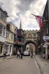 City Gate (Tony Shertila) Tags: britain clouds cloudy day england europe gbr geo:lat=5106724690 geo:lon=179764330 geotagged salisbury unitedkingdom weather wiltshire 20160808160516englandsalisburypm1