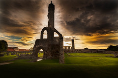 Dawn over the Cathedral (dmunro100) Tags: standrews cathedral fife scotland summer
