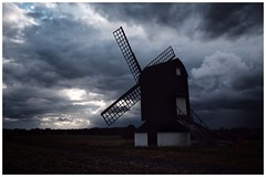 Pitstone Mill, Stormy (Pauls Pixels) Tags: flickr 1000 allcontent