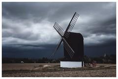 Set the sails, I feel the winds a'stirring. (Pauls Pixels) Tags: fujifilm x100t stormysky pitstonemill flickr 1000 allcontent