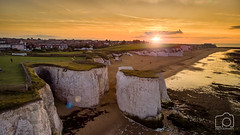 Botany Bay - Mavic-0001 (LeePellingPhotography.co.uk) Tags: kent air arial bay botany broadstairs drone explore explorekent mavic photography sea seascape stack thanet visit visitkent