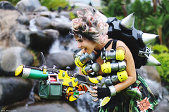 IMG_2286 (willdleeesq) Tags: comiccon comiccon2018 cosplay cosplayer cosplayers sandiegocomiccon sandiegocomiccon2018 sdcc sdcc2018 junkrat overwatch