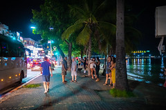Beach Road at Night, Pattaya, Thailand (CamelKW) Tags: thailand2018 beachroad night pattaya thailand chonburi th