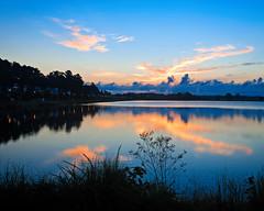 Early Morning Symmetry (DASEye) Tags: davidadamson daseye nikon sunrise lake water dawn he perfect