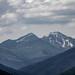 Negoiu Peak at 2500 m, second highest in Romania - by Vidraru Dam and lake - Wallachia, Romania