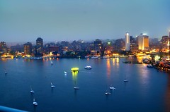 Boats,Nile River (flight light) Tags: egypt cairo coulors boats water art lights