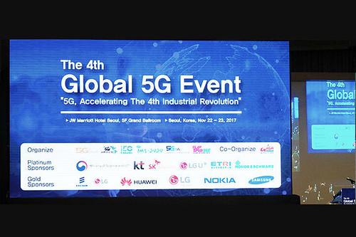 4th – Seoul, Coréia, 5G Forum, 22-23 de novembro de 2017 - 4