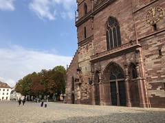 Basel Cathedral - Basel, Switzerland (firehouse.ie) Tags: christian christianity churches church cathedrals cathedral baselminster munsterplatz architecture square city switzerland baselcathedral baselstadt basel