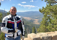 20180916 iPhone7 Colorado 170 (James Scott S) Tags: iphone motorcycle rental eagle riders hd harley davidson ultra classic touring rider biker co colorado pikes peak rocky mountains mount evans spirit lake travel wanderlust candid trail ridge road continental divide great