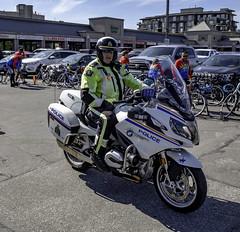 The RCMP convert (Tony Tomlin) Tags: whiterockbc britishcolumbia canada copsforcancer charityride police