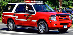 east great plain car 5 (view 2) (Zack Bowden) Tags: ct firefighters convention parade 2018 state east great plain ford suv chief car expedition norwich