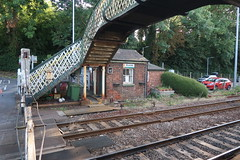 Brundall Gate Office (DaveB aka Dave.thewhites) Tags: building railway bridge brundall station wherry line crossing network rail
