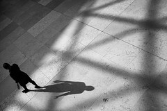 ** (donvucl) Tags: london britishmuseum figure shadows shadow bw blackandwhite fujix100f pattern composition donvucl