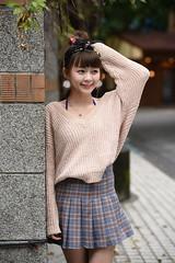 小羽0002 (Mike (JPG直出~ 這就是我的忍道XD)) Tags: 小羽 台灣大學 nikon d750 model beauty 外拍 portrait 2017 鍾蕙羽 june