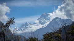 Dhaulagiri Peak (mathias.moeller) Tags: backpacking nepal trekking annapurna himalaya mountain range snow glacier view peak panorama cold cliff hiking expedition travel sky clouds
