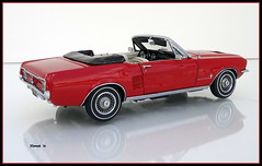 1967 Ford Mustang Convertible (JCarnutz) Tags: 124scale diecast danburymint 1967 ford mustang