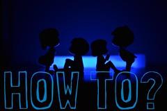 HOW TO - a video series (Bhargav Kesavan) Tags: glow stick night lowlight photography blue miniature toys color nikon