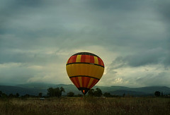 """You say that you wanna go to a land that's far away.."" (charlotte.bier) Tags: balloon escape dark"