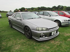 Nissan Skyline GT T751BDV (Andrew 2.8i) Tags: haynes motor museum breakfast meet sparkford yeovil somerset show classic classics cars car autos japanese sports sportscar turbo coupe r33 gt skyline nissan