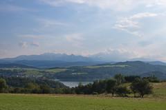 Czorsztyn Tatras from Kluszkowce Wielkie Pole IMG_3748 bb (david.neville2776) Tags: czorsztyn tatras mountains lake