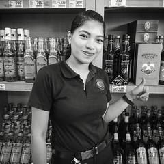 Stranger 63/100 (Stitch) Tags: 100strangers hellostranger stranger portrait saleslady sales lady woman beautiful pretty philippines winery