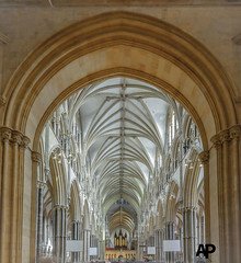 Lincoln Cathedral Nave from Entrance Hall (Aaron Pack (100,000+ views Thank You x)) Tags: lincoln cathedral architecture nikond7000 tokina 1120 mm