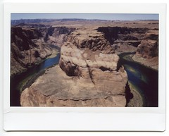 Nevada & Arizona 2018004 (Past Our Means) Tags: fuji fujifilm horseshoe bend instant instax instaxwide indie instantcamera instantphotography instantwide indeifilm mountain arizona travel adventures adventure wide 210 film filmisnotdead filmphotography summer 2018 analog analogue analouge hiking horse shoe istillshootfilm river