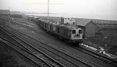 Falkland 20209'20199 mid 80's s176 (Ernies Railway Archive) Tags: ayr falklandyard gswr lms scotrail
