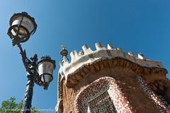 Park Güell (www.chriskench.photography) Tags: europe design nikon chriskenchphotography copyright d700 travel antonigaudi espana architecture buildings lamppost gaudi chriskench spain tiling barcelona barcelonaprovince es