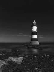 Penmon Lighthouse (jactoll) Tags: penmon anglesey penmonpoint lighthouse irishsea black white bw mono monochrome sony a7iii sony2470mmf28gm jactoll