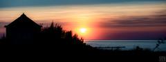Kühlungsborn sunset (MAICN) Tags: 2018 building sunset kühlungsborn wasser dünengras sea dune dünen house sonnenuntergang sky seascape himmel ostsee water hütte