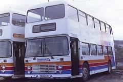 STAGECOACH EAST MIDLAND 213 KWA213W (bobbyblack51) Tags: stagecoach east midland 213 kwa213w bristol vrt ecw nursery avenue depot kilmarnock 1995
