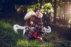 SP_81781 (Patcave) Tags: dragon con dragoncon 2018 dragoncon2018 cosplay cosplayer cosplayers costume costumers costumes valka how train your 2 viking dreamworks animation dragonrider httyd2