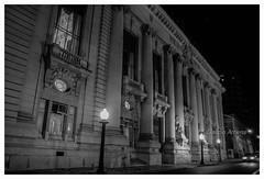 Palácio Piratini (Claudio Arriens) Tags: piratini palácio rs riograndedosul brasil portoalegre pb bw night noite canoneosrebelxt architecture paláciopiratini mauricegras neoclássico