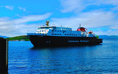 Scotland West Highlands Argyll the car ferry Clansman docking at Oban 7 July 2018 by Anne MacKay (Anne MacKay images of interest & wonder) Tags: scotland west highlands argyll caledonian macbrayne calmac car ferry clansman docking oban sea ship 7 july 2018 picture by anne mackay