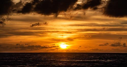 Atardecer en Patong Beach, Tailandia